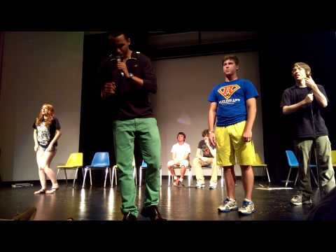 Kettering Orientation Hypnotist 2013 : Chris Jones