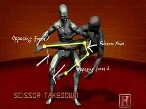 Human Weapon Sambo - Scissor Takedown