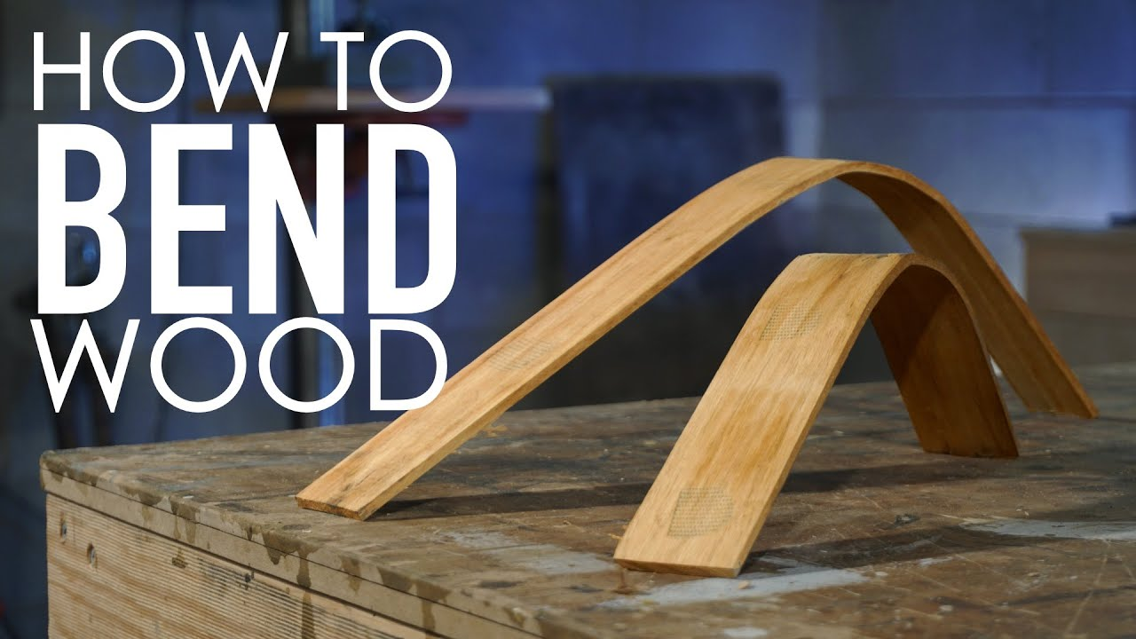 Learning How To Bend Wood Using A Steam Cleaner