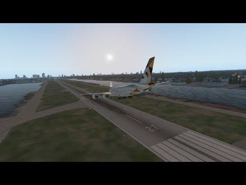 London City Airport VS Huge Planes