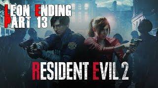 ENDING Resident Evil 2 Remake Leon ENDING l Part 13 l Gameplay FR