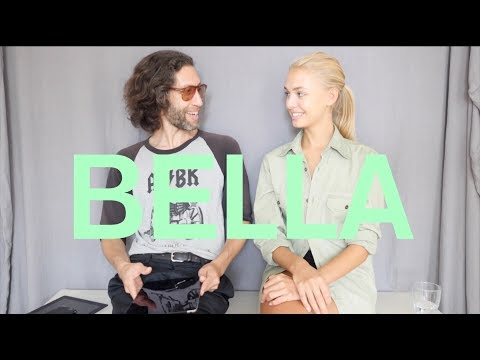 Model Bella Oelmann at Iconic Management&39;s Personal Style