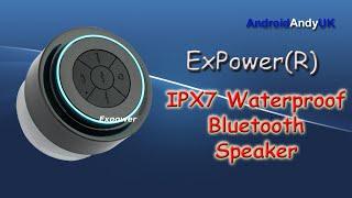 Expower(R) IPX7 Waterproof Speaker