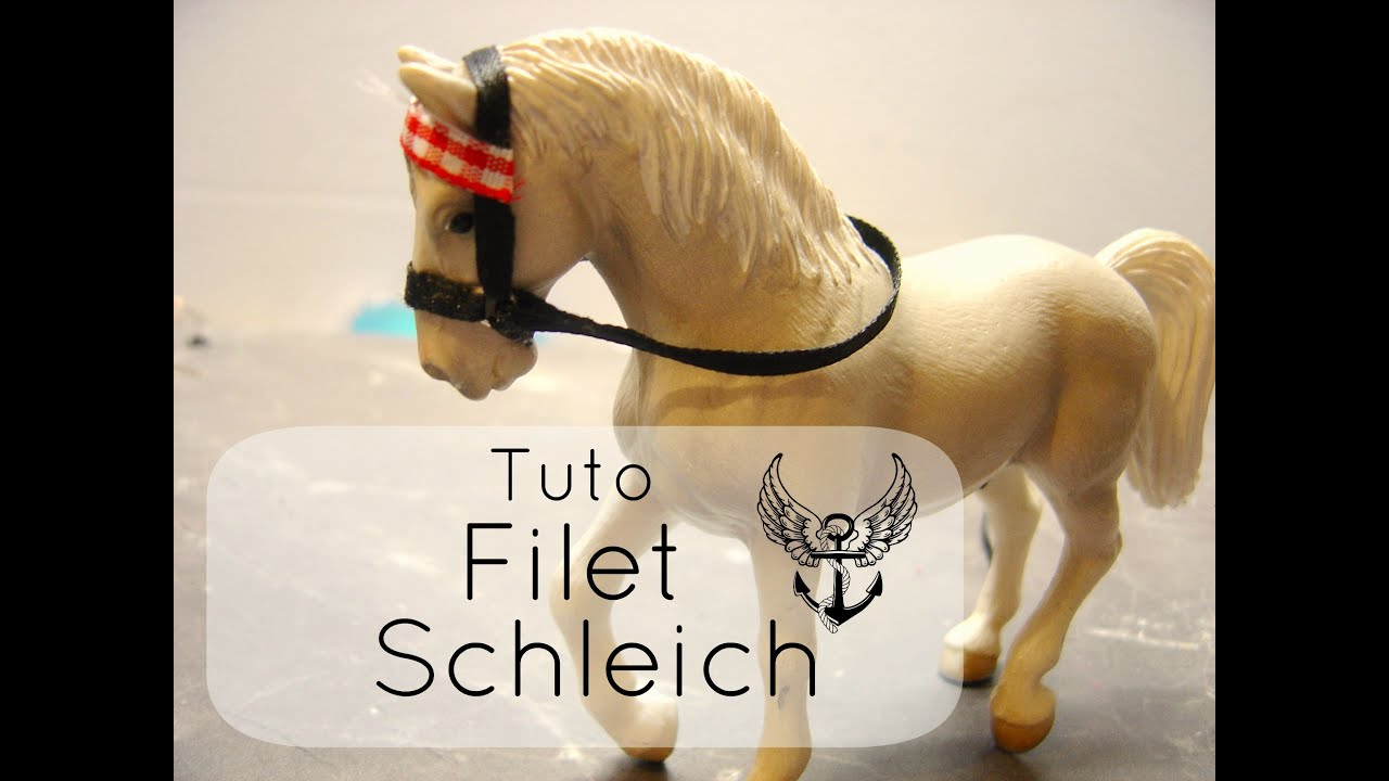 comment faire un filet schleich youtube. Black Bedroom Furniture Sets. Home Design Ideas