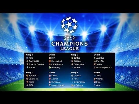 CHAMPIONS LEAGUE GROUPS! My Thoughts...