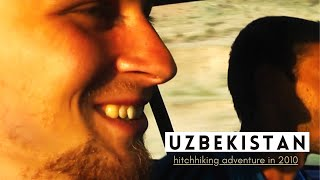 Reinis Jaunais - Steppe | hitchhiking adventure in Uzbekistan (2010) | Travel Vlog