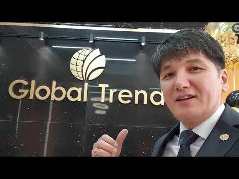 Первый визит в собственный офис компании Глобал Тренд в Алматы. 24 декабря 2019.