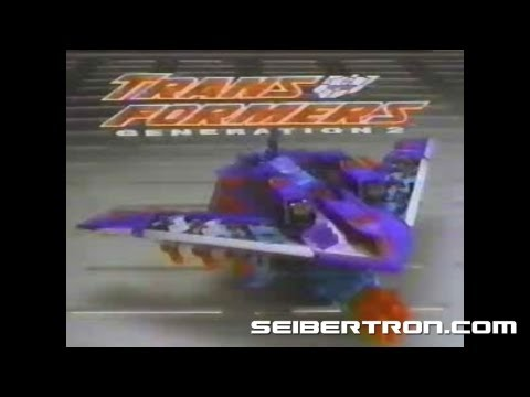 Transformers G2 Dreadwing and Smokescreen Generation 2 commercial 1994 #2