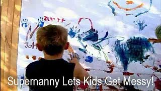 Supernanny Lets Kids Make Mess To Annoy Mom | Supernanny USA