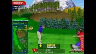 Golden Tee Fore: 36-hole tutorial (uses YouTube annotations)