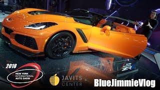 2018 NEW YORK AUTO SHOW!!!!! (BlueJimmieVlog #3)