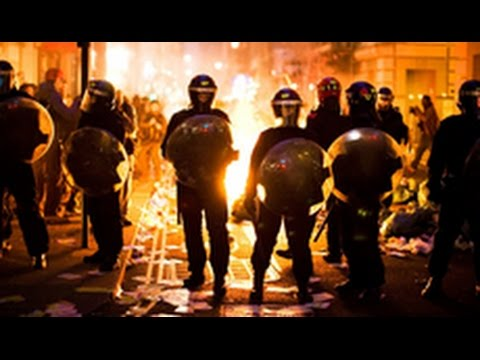 Violent protests at Trump New Mexico rally