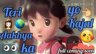 Teri Aakhya Ka Yo Kajal Status video | Sapna choudhary | pal pal yaad teri Tadpave status video
