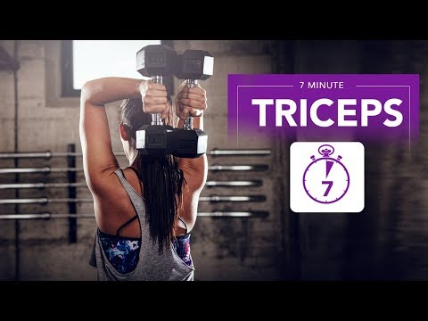 7 Minute TRICEPS Isolation (GUARANTEED BURN!!)