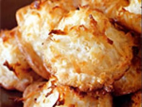 Coconut Macaroons | INDIAN RECIPES | WORLD'S FAVORITE RECIPES | HOW TO MAKE