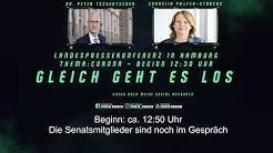 Landespressekonferenz Hamburg zur Corona Krise 21. April 2020 #Corona #CoronaHH