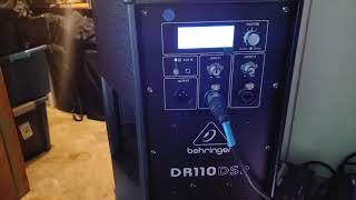 Quick review of the Behringer DR110DSP