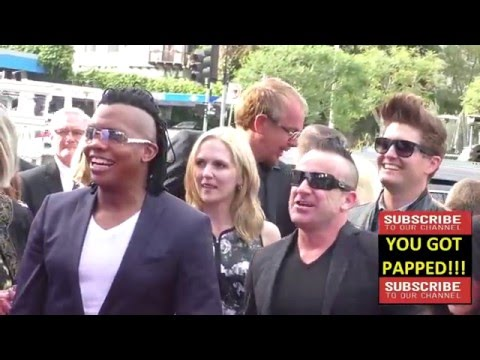 Newsboys at the Gods Not Dead 2 Premiere at Directors Guild in West Hollywood