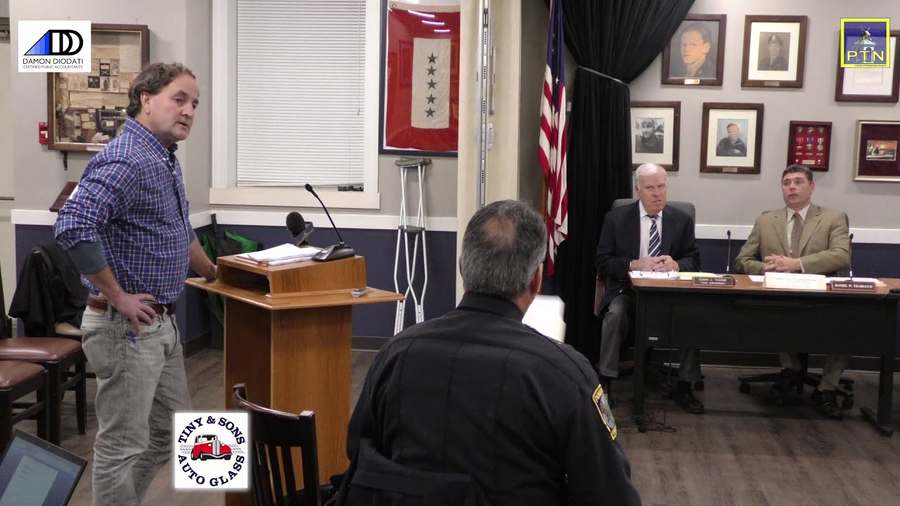 Pembroke Board of Selectmen, Town Accountant, Police Chief November 26, 2018