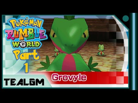 Pokemon Rumble World - Part 1: Leafy Hot-Air Balloon Stages - DON'T DOUBT OUR LOVE!