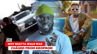 This Is Why Shatta Wale Was Ch@sed Away From Krofrom In Kumasi
