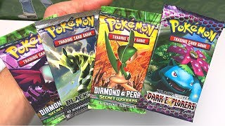 REMEMBER THESE POKEMON CARDS?! - Opening ALL OF THEM!