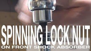 Shock Absorber Lock Nขt Spinning