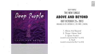 """DEEP PURPLE """"Above And Beyond"""" - The New Single - OUT OCTOBER 25th 2013"""