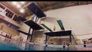 Diving,прыжки в воду Днепропетровск,бассейн Метеор
