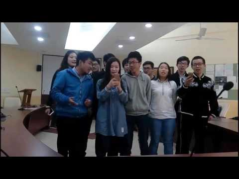 Farewell Songs by Chinese students at NIIT University