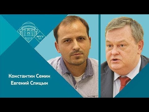 "Е.Ю.Спицын и К.В.Семин на ""Красной линии"". ""Точка зрения. Ленин - революционер и государственник!"""