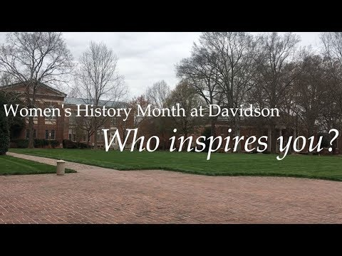 Davidson Women Celebrate Family, Mentors, Friends Who Inspire