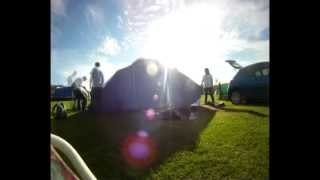 Putting Up The Tent At Llanbedrog - Timelapse