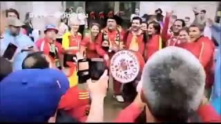 Болельщики веселятся на улице Баумана в Казани во время ЧМ-2018