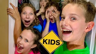 Hide and Seek in the House with Sign Post Kids!