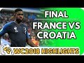 France vs Croatia (World Cup Final) - Highlights Before They Happen
