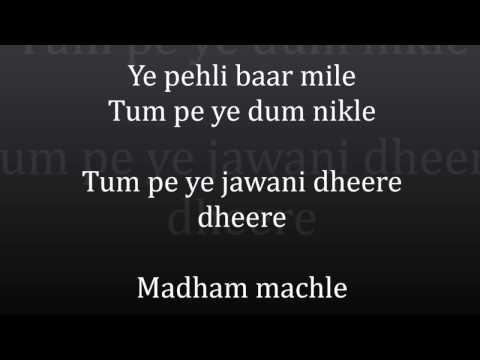 The Humma Song Lyrics – OK Jaanu   Shraddha Kapoor   Aditya Roy Kapur   A.R. Rahman, Badshah,