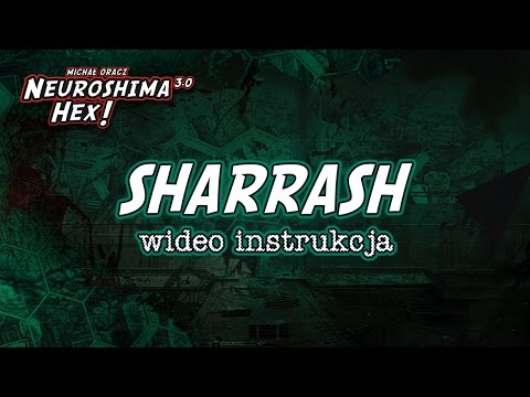 Neuroshima Hex 3.0 - Sharrash - instrukcja