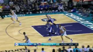 NBA BLOOPERS WATCH 76ers And Hornets Hilariously Bad 30 Seconds