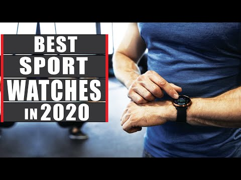 TOP 7 Best Sport Watches in 2020 Best Smartwatch for Fitness.✔✔