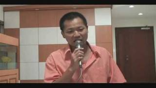 LIOW VIDEO -- karaoke singing (4) 情难守 & 一帘幽梦