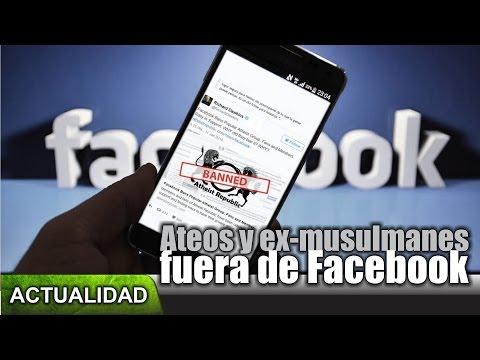 Ateos y ex-musulmanes fuera de Facebook #LetExMuslimsSpeak