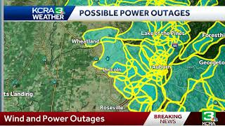 PG&E power shutoffs and wind