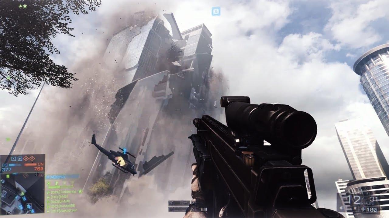 Minecraft Animation Wallpaper Battlefield 4 Multiplayer Gameplay E3 2013 Game Reveal