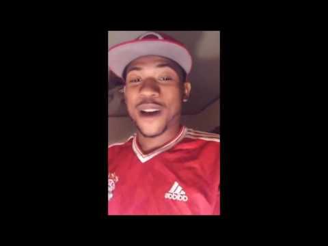 "Robbery Suspect ""Etoe Da Shooter""  Explains Why He's On The Run via Facebook Live"