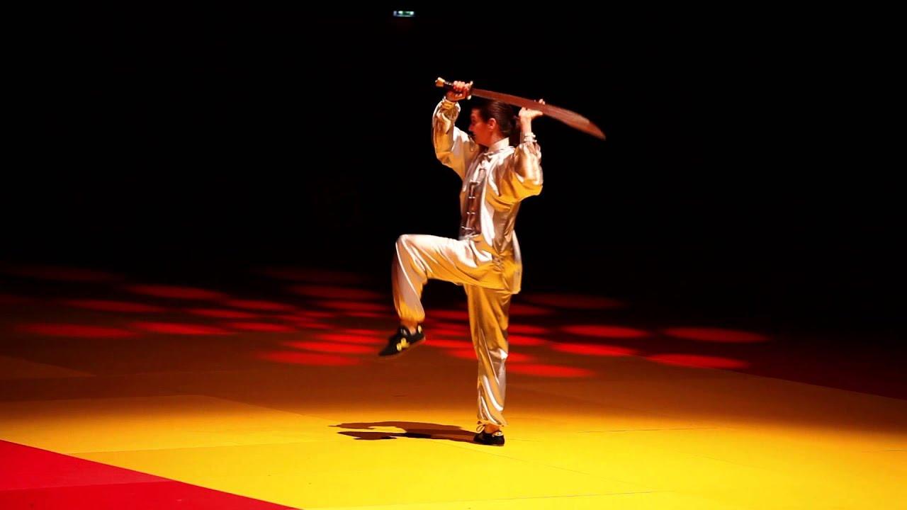 Démonstration du sabre Wudang