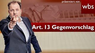 Mein Gegenvorschlag zu Artikel 13 - So würde es funktionieren! | Rechtsanwalt Christian Solmecke