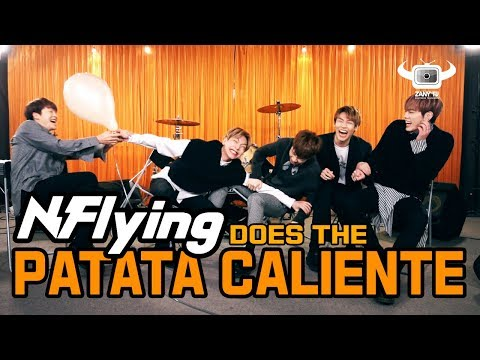 PATATA CALIENTE QUIZ GAME AND LIVE PERFORMANCE BY N.Flying!