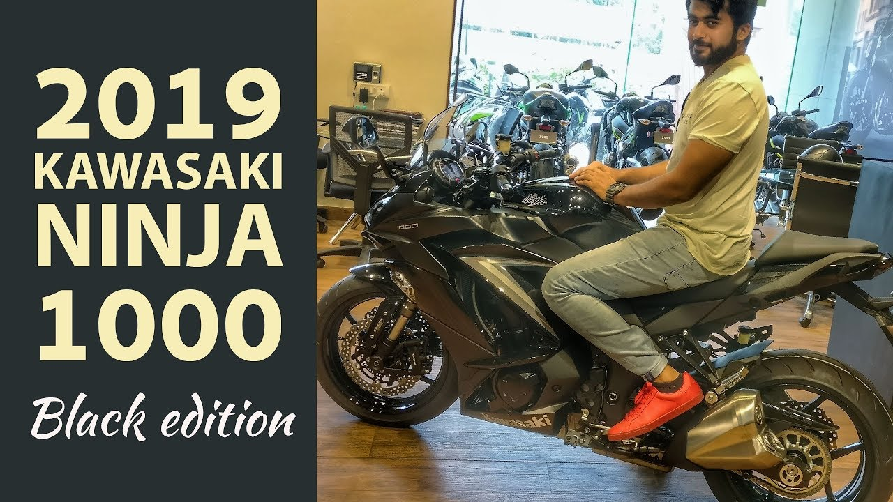 1st Ever Review 2019 Kawasaki Ninja 1000 Exhaust Walkaround