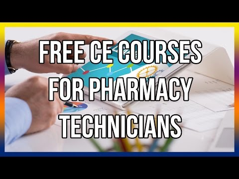 free-ce-courses-for-pharmacy-technicians